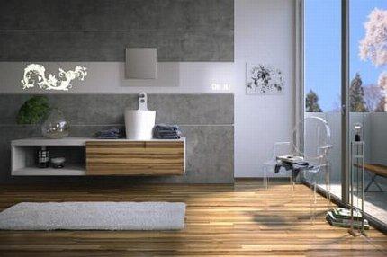 Łazienka, meble i akcesoria łazienkowe MyBath, seria On-Off