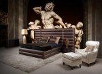 Sypialnia, łóżko Cezar z kolekcji mebli Maxliving