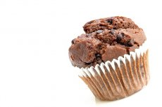 Muffina typu chocolate chip