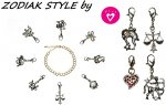 Biżuteria, charmsy, znaki zodiaku od divy