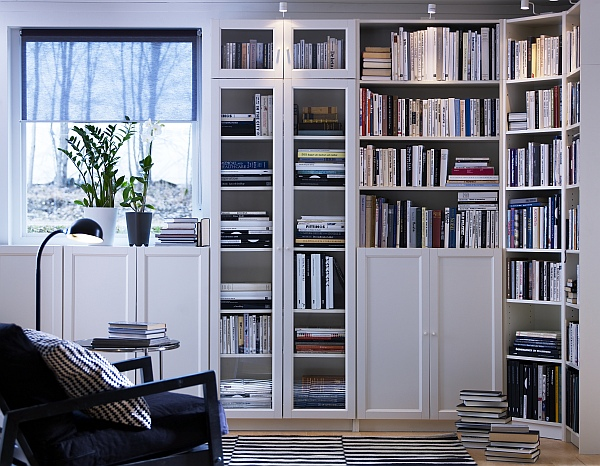 Biuro Libreria billy ikea