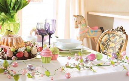 Dekoracje świąteczne na Wielkanoc, kolekcja Easter Rainbow