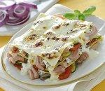 Lasagne z tuńczykiem i ricottą