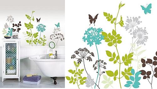 łazienka Naklejki Dekoracyjne Na ścianę Stylownikcom