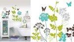 Łazienka, naklejki dekoracyjne na ścianę