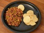 Ogniste danie mięsne w meksykańskim stylu