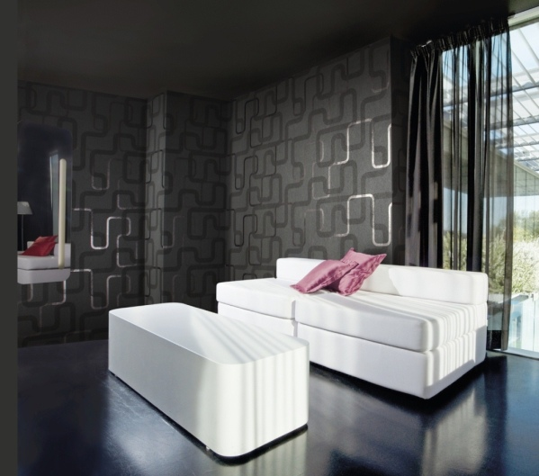 salon tapeta zaprojektowana przez simone micheli