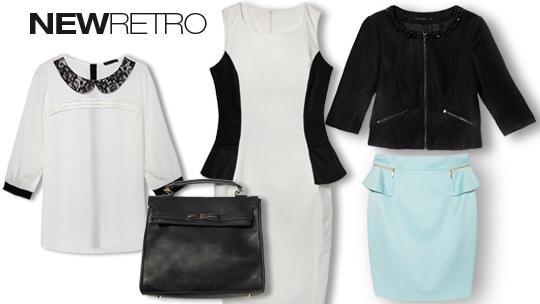 Moda damska, kolekcja New retro od MOHITO