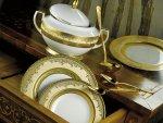 Naczynia, porcelana Royal Gold Creme z kolekcji Masterpiece