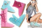 Buty EMU w pastelowych kolorach