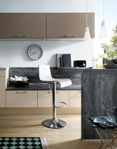 Aranżacja kuchni, meble kuchenne marki Schuller