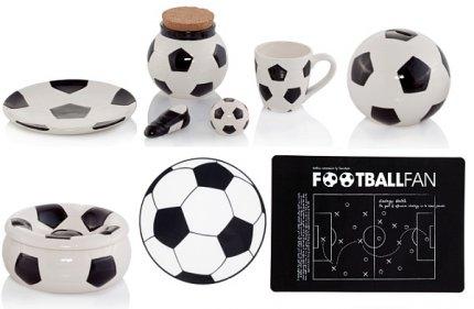 Dekoracje i gadżety piłakrskie na Euro 2012