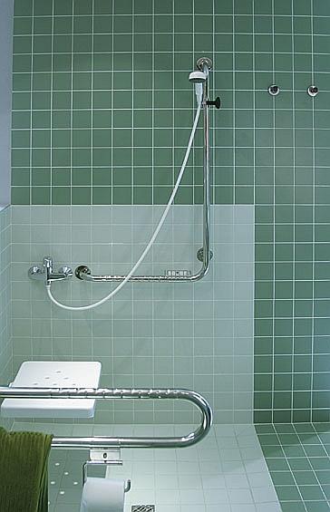 Galeria łazienka Natrysk Poręcz Dla Niepełnosprawnych
