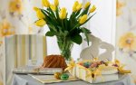 Dekoracja stołu na Wielkanoc