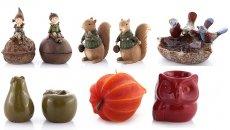 Dekoracje jesienne, figurki