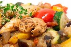 Warzywa z mięsem, potrawa