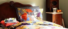 Sypialnia, styl rustykalny