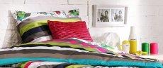 Sypialnia w kolorach fluo