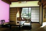 Salon, aranżacja w stylu japońskim