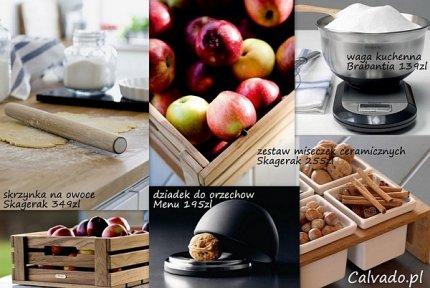 Akcesoria kuchenne, drewniane