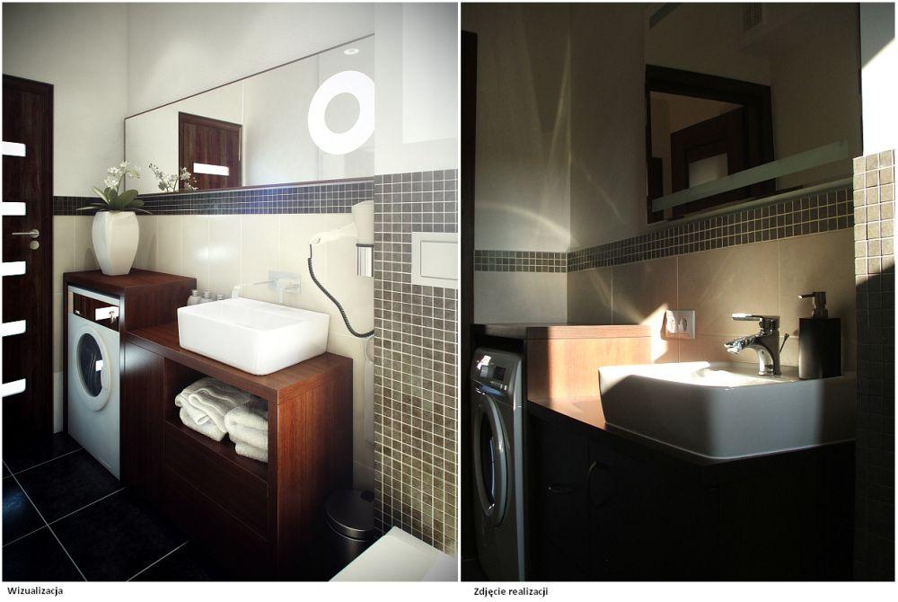łazienka W Kolorach Brązu I Beżu Stylownikcom
