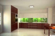 Kuchnia minimalistyczna, wizualizacja