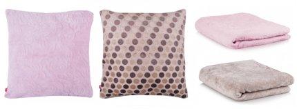 Poduszki i koce
