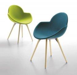 Kolorowe krzesła COOKIE