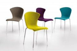 Kolorowe krzesła GOSSY