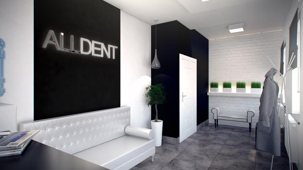 gabinet dentystyczny recepcja z poczekalni� stylownikcom