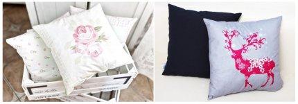 Poduszka - niebanalny prezent pod choinkę