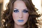 makijaż zimowy