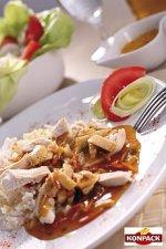 ryż z kurczakiem po chińsku