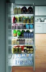 systemy wysuwne do szafek kuchennych
