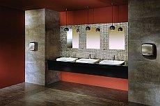 aranżacja łazienki w biurze