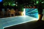 taras oświetlenie diody LED