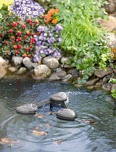 oczko wodne fontanna