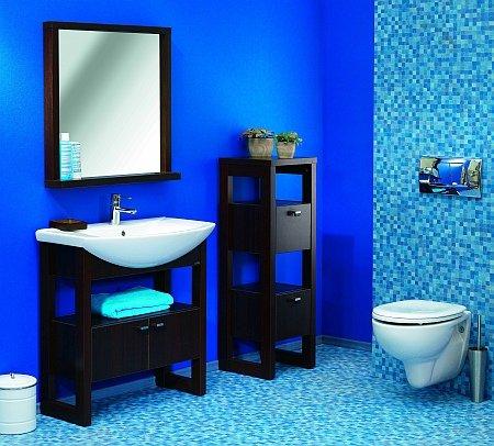 łazienka fioletowy