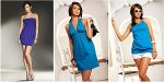 sukienki niebieski