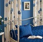 sypialnia niebieski