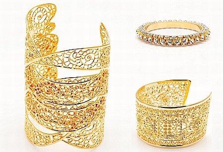 biżuteria złota Isharya