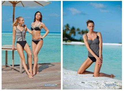 Plażowy trend: Black & white