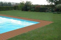 Panele Duofuse przy basenie
