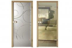 Kolekcja szklanych drzwi AMBER