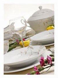 Zastawa Amelia – porcelanowa ozdoba stołu