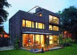 Dom jednorodzinny z oknami Schüco PVC
