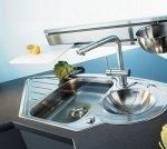 Zlewozmywak  narożny  Active kitchen marki Franke