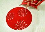 Dywan zainspirowany kulturą foklową