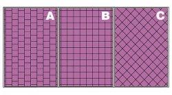Dwa warianty układania płytek – gdy wysokość jest określona i dowolna