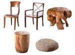 Krzesła i siedziska w stylu kolonialnym